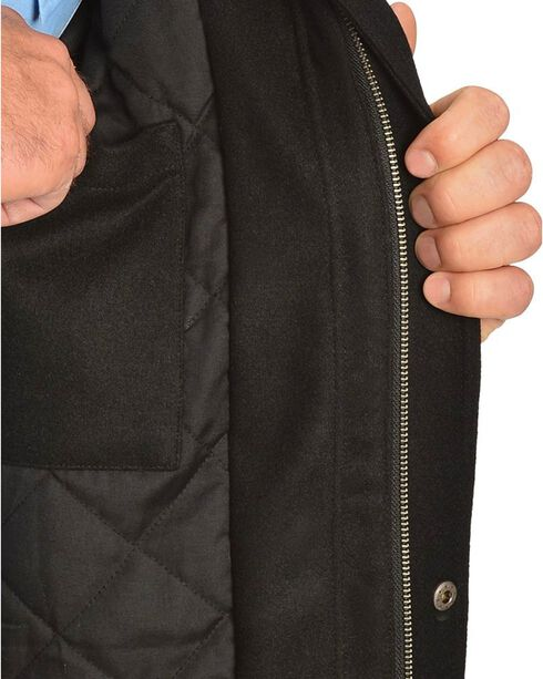 Cripple Creek Wool with Contrasting Piping Jacket, Black, hi-res