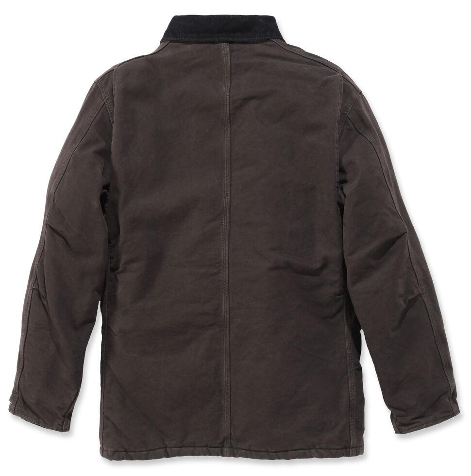 Carhartt Sandstone Traditional Work Coat - Big & Tall, Brown, hi-res