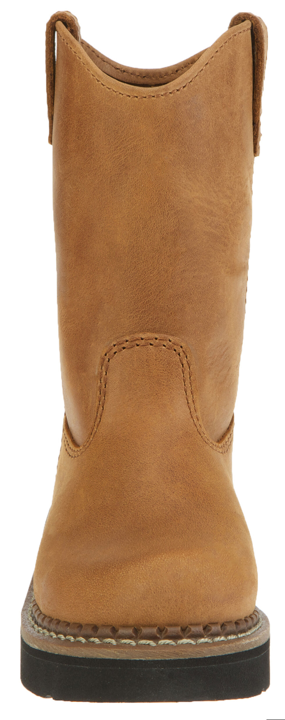 Georgia Youth Boys' Wellington Boots - Round Toe, Brown, hi-res