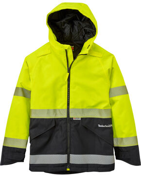 Timberland PRO Men's Work Sight High-Visibility Insulated Jacket, Multi, hi-res