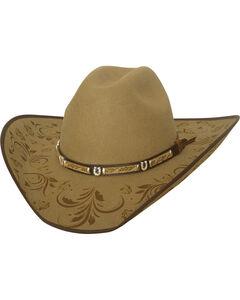 Bullhide Women's Storyteller Wool Cowgirl Hat , Camel, hi-res