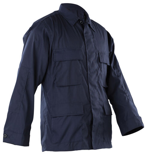 Tru-Spec Men's Navy B.D.U. Coat , Navy, hi-res