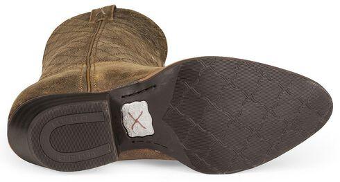 Twisted X Distressed Cowboy Boot - Medium Toe, Distressed, hi-res