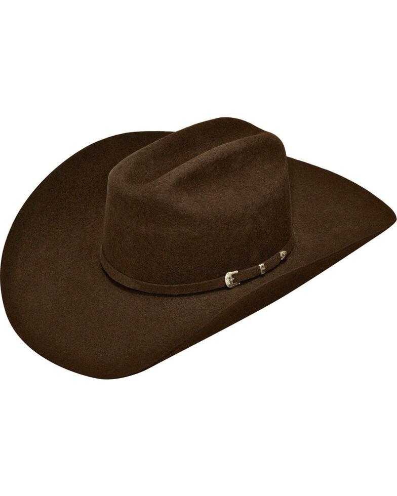 Ariat Men's Wool Cowboy Hat , Chocolate, hi-res
