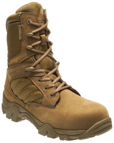 Bates Men's GX-8 Waterproof Work Boots - Composite Toe, Tan, hi-res