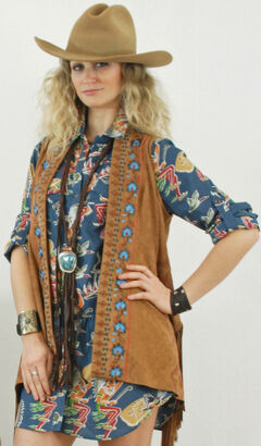 Tasha Polizzi Women's Four Corners Tunic, Print, hi-res