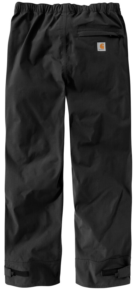 Carhartt Waterproof Breathable Shoreline Pants, Black, hi-res