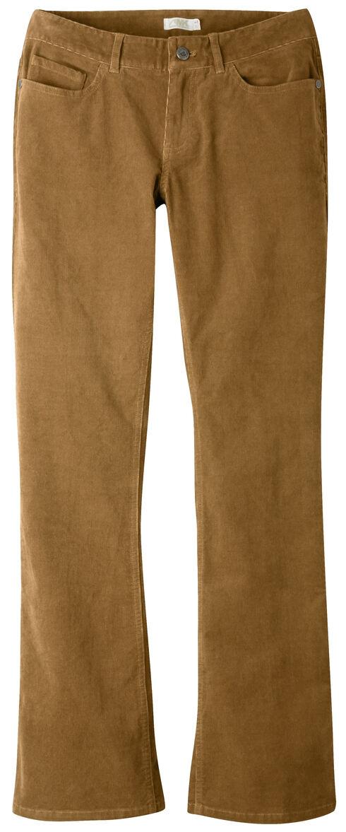 Mountain Khakis Women's Canyon Cord Slim Fit Pants - Petite, Brown, hi-res