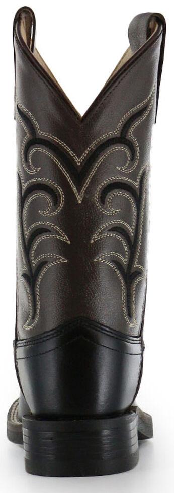Cody James Boys' Black Western Boots - Square Toe, Black, hi-res