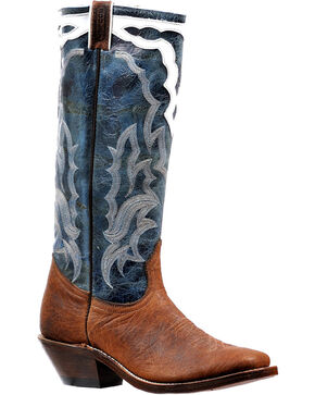 "Boulet Men's 16"" Western Boots - Square toe, Brown, hi-res"