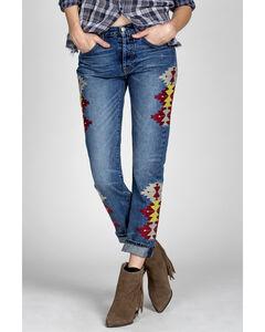 MM Vintage Women's Jane Boyfriend Jeans , Indigo, hi-res