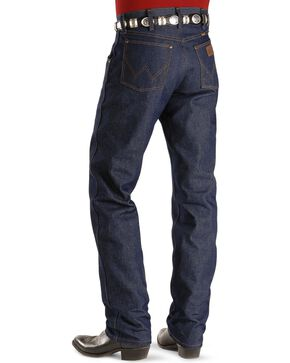 Wrangler 47MWZ Premium Performance Cowboy Cut Rigid Regular Fit Jeans, Indigo, hi-res