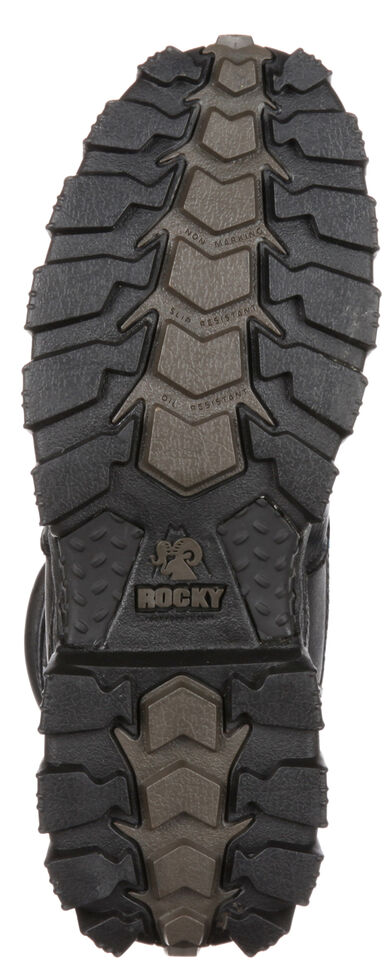 Rocky AlphaForce Waterproof Puncture Resistant Work Boots - Comp Toe, Black, hi-res