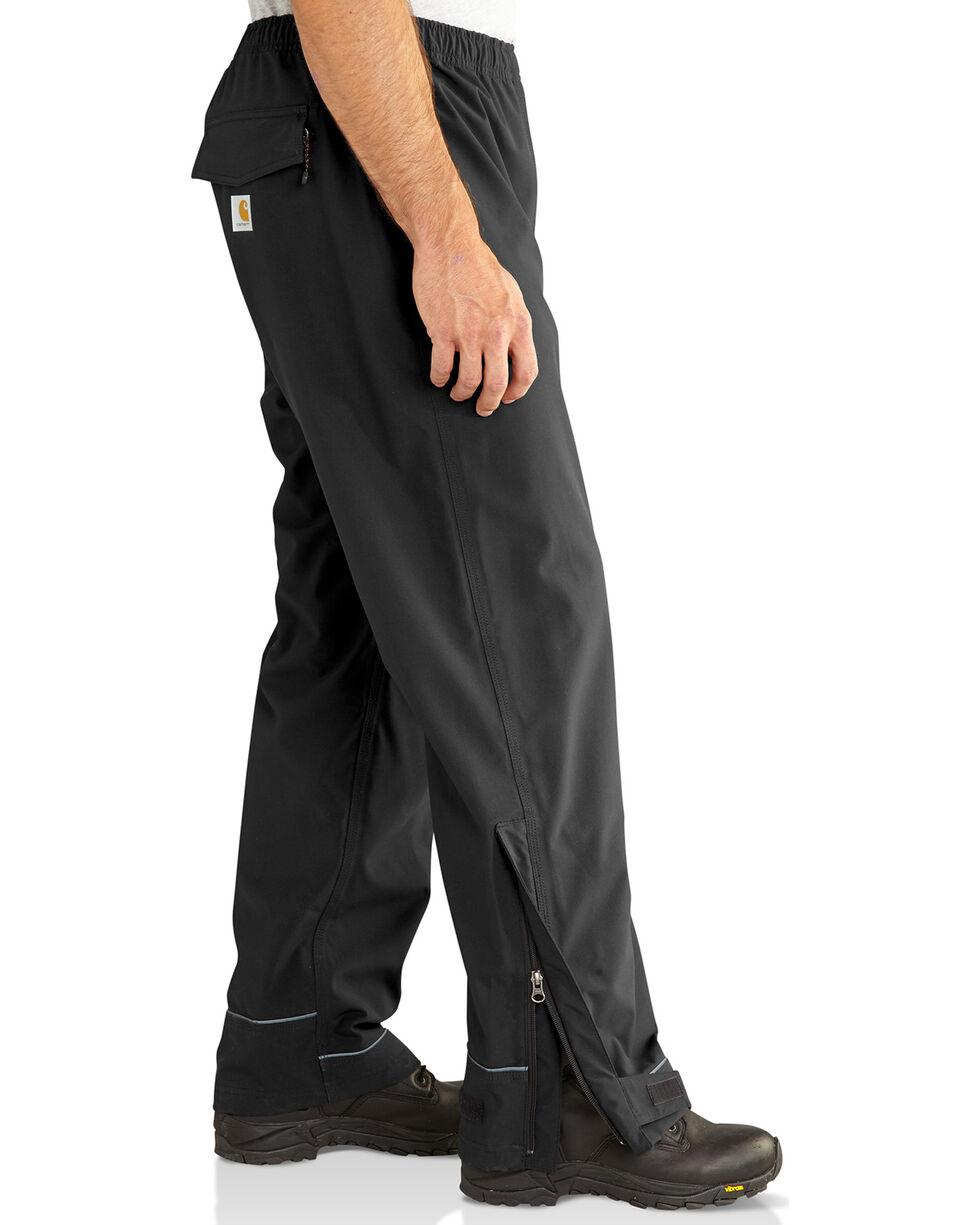 Carhartt Men's Waterproof Equator Pants, Black, hi-res