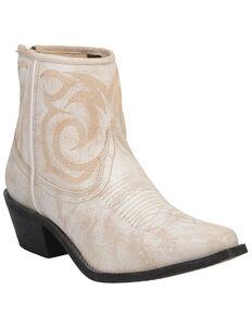 Laredo Women's Tempest Fashion Booties - Snip Toe, Off White, hi-res