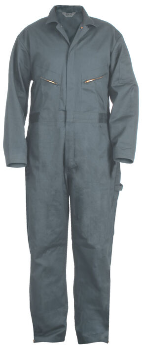 Berne Deluxe Unlined Coveralls - Big (56 - 60), Blue, hi-res