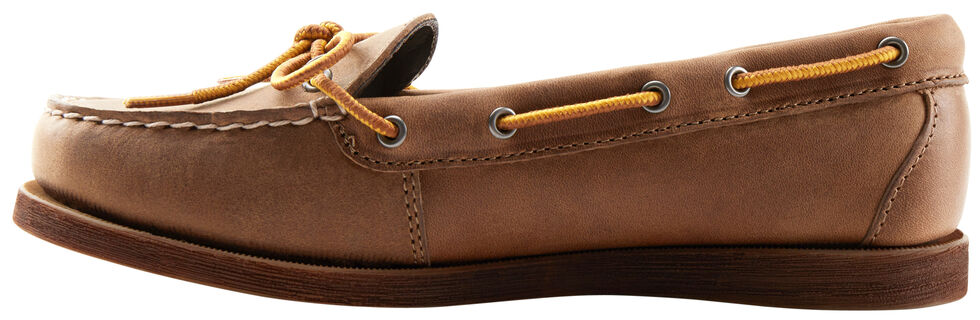 Eastland Women's Natural Yarmouth Camp Moc Slip-Ons, , hi-res