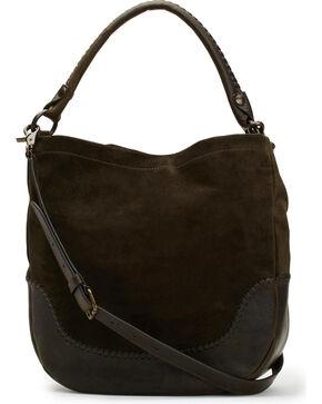 Frye Women's Melissa Whipstitch Hobo Bag , Dark Brown, hi-res