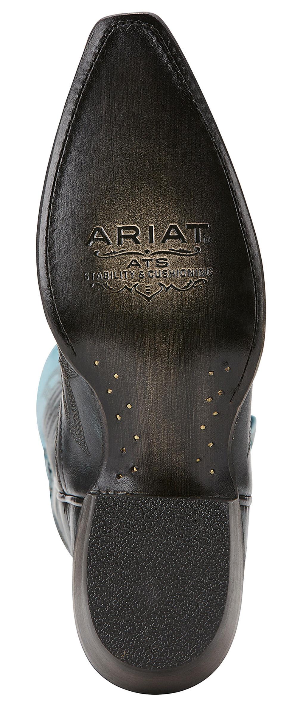 Ariat Blue Ombre Cowgirl Boots - Snip Toe, , hi-res