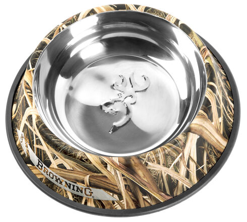 Browning Blades Camouflage Extra Large Non-Slip Pet Dish, Camouflage, hi-res