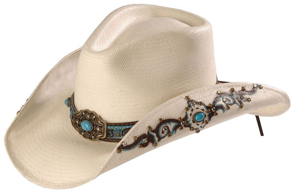 cef3b9fb574f6 Bullhide Sweet Seduction Straw Cowgirl Hat