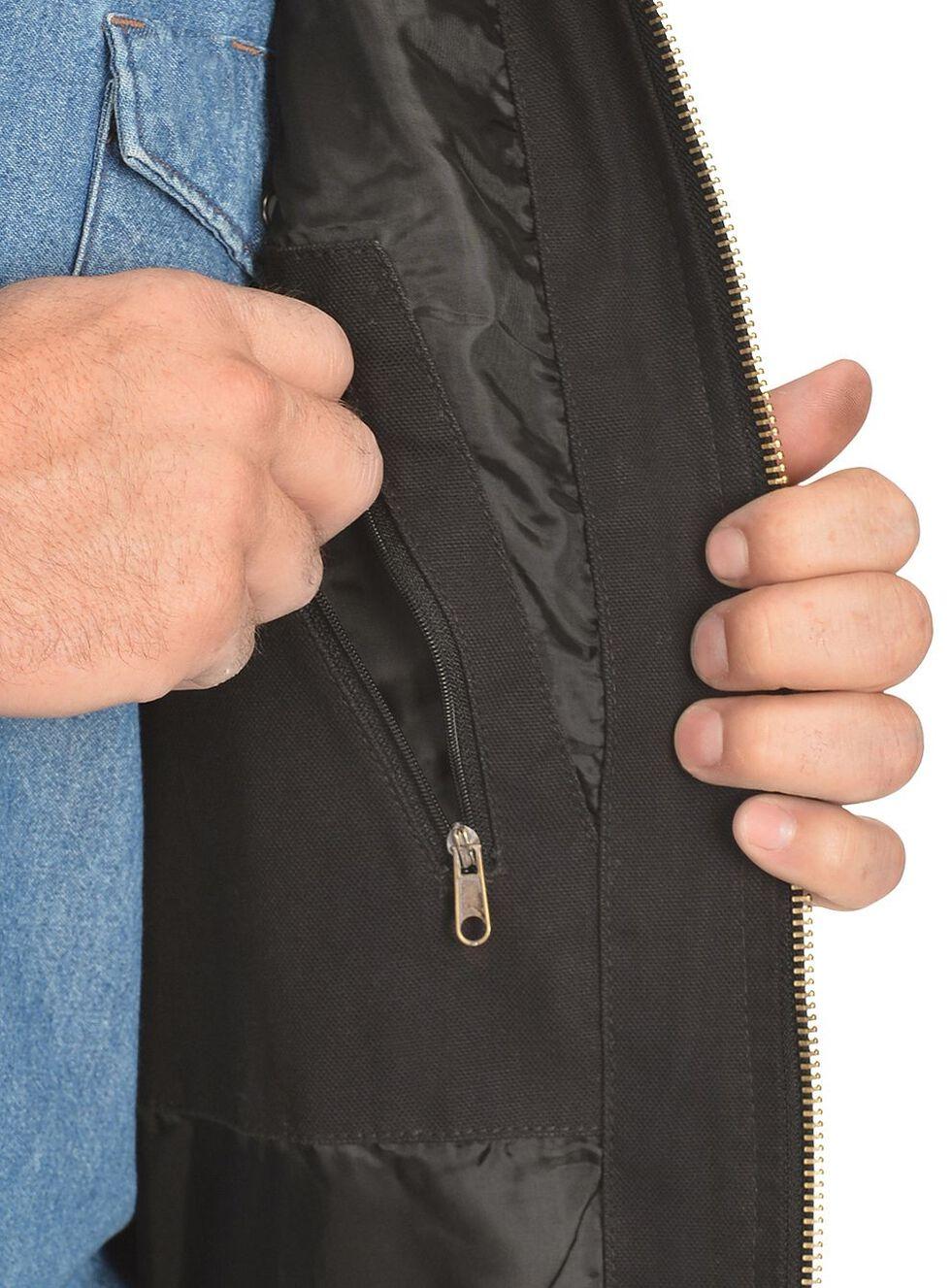 Gibson Trading Co. Men's Quilted Vest, Black, hi-res