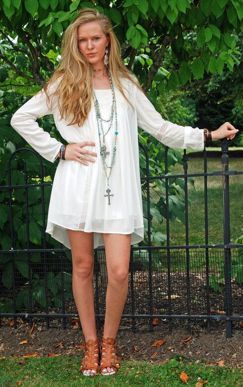 Tasha Polizzi Women's Ivory Genevieve Dress, Ivory, hi-res