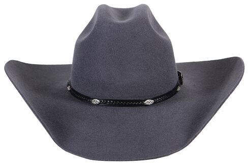 Cody James 3X Longview Wool Felt Cowboy Hat, Grey, hi-res