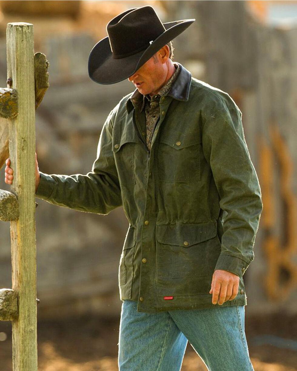 Schaefer Outfitter Men's Loden Rangewax High Plains Drifter Jacket - Big 2X , Loden, hi-res