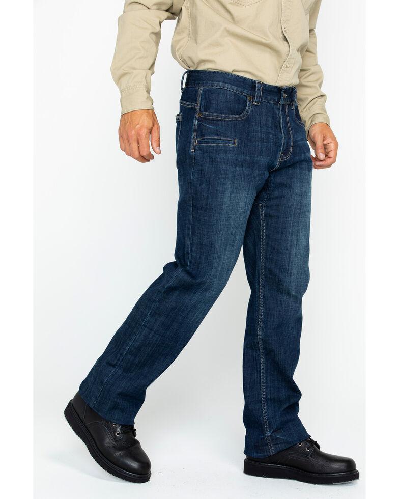 Hawx® Men's Denim Stretch Work Jeans , Indigo, hi-res