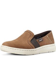 Ariat Women's Chestnut Ryder Slip-On Shoes, Brown, hi-res