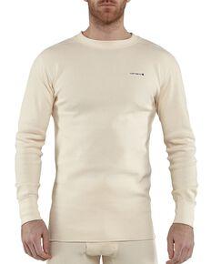 Carhartt Moisture-Wicking Thermal Under Shirt, Natural, hi-res