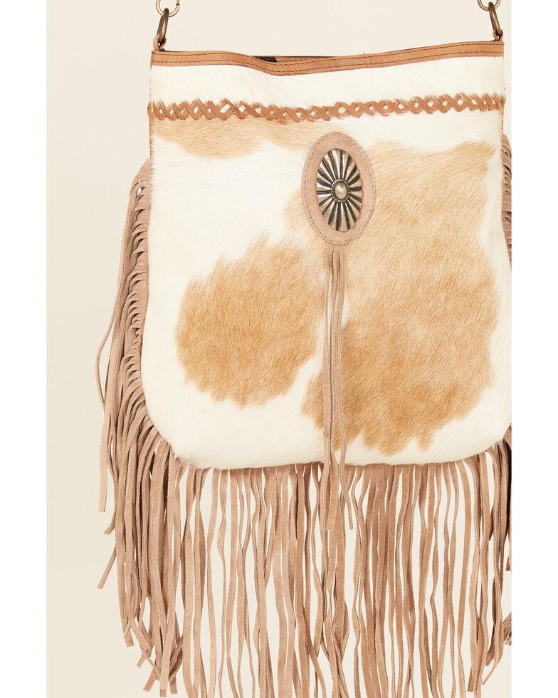 Idyllwind Women's Cosmic Cowgirl Fringe Bag, Brown, hi-res