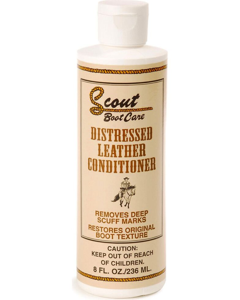 Scout Distressed Leather Conditioner, Natural, hi-res