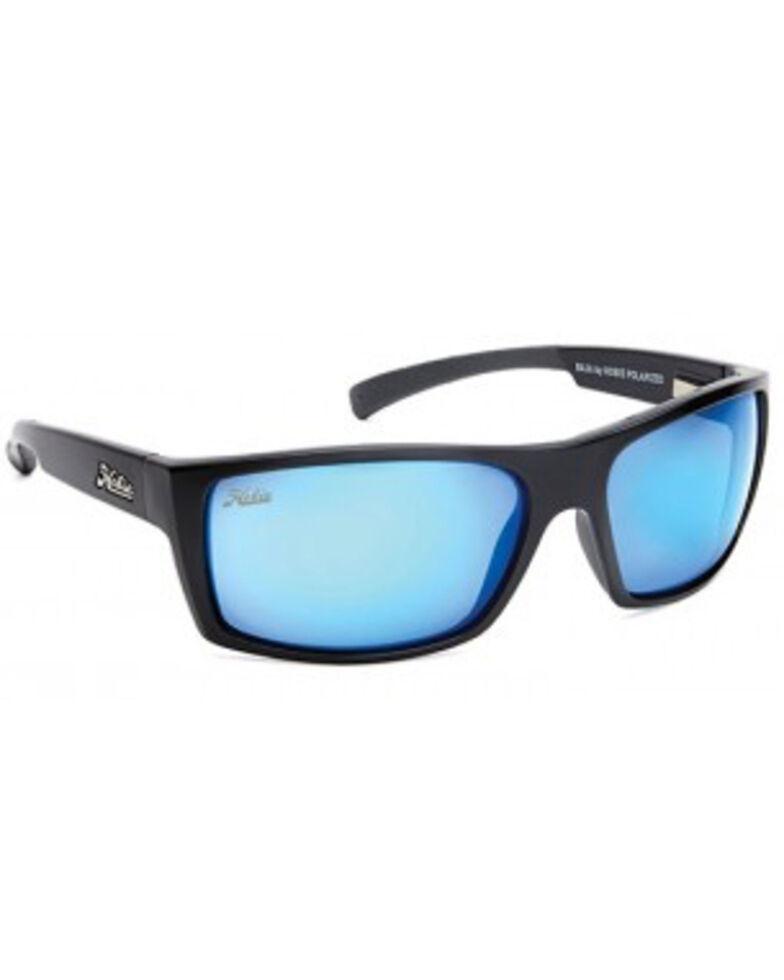 Hobie Men's Satin Black Baja Polarized Sunglasses, Black, hi-res