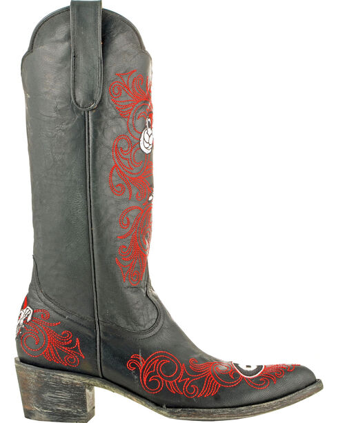 Gameday Boots Women's University of Georgia Western Boots - Pointed Toe, Black, hi-res