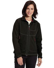 Woolrich Women's Radius Softshell Jacket, Black, hi-res