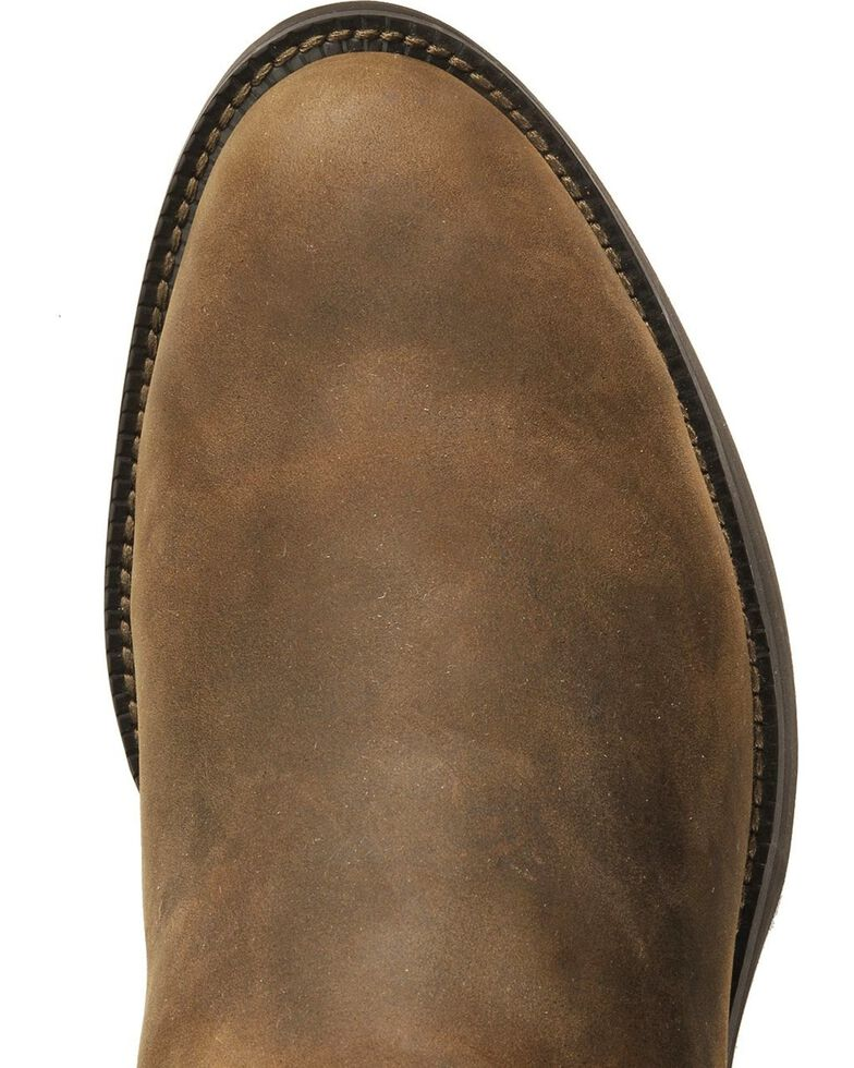Justin Stampede Roper Cowboy Boots Round Toe Sheplers