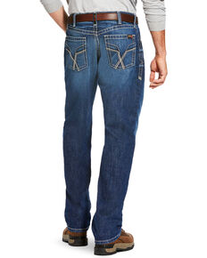 Ariat Men's FR M3 Vortex Loose Fit Work Jeans - Straight Leg, Blue, hi-res