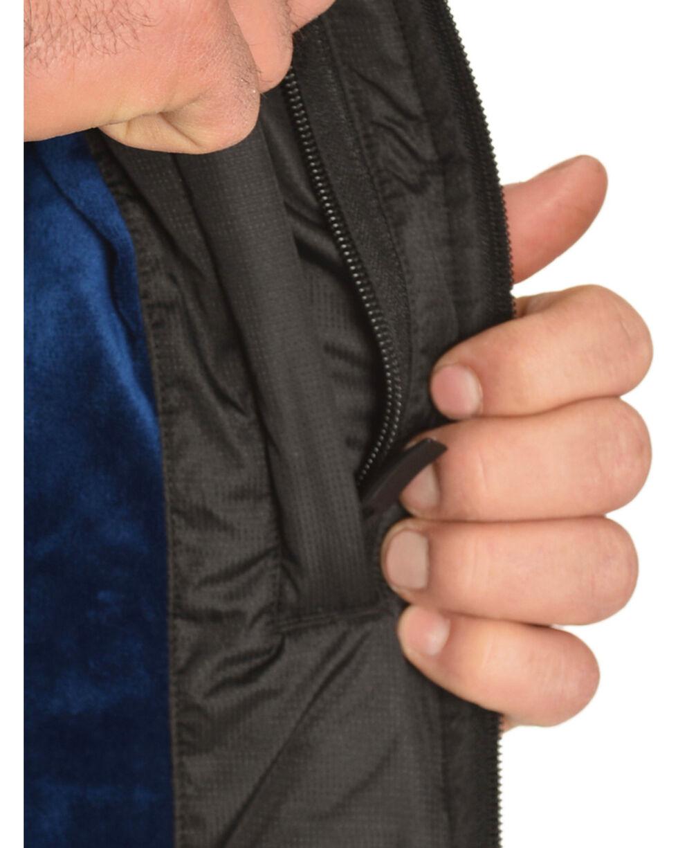 Ariat Men's Black Crius Quilted Vest, Black, hi-res