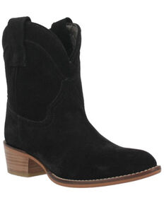 Dingo Women's Tumbleweed Western Boots - Round Toe, Black, hi-res
