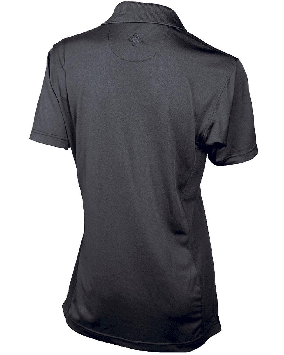 Tru-Spec Women's 24-7 Series Short Sleeve Eco Tec Polo , Black, hi-res