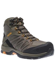 Wolverine Men's Fletcher Waterproof Work Boots - Composite Toe, Taupe, hi-res