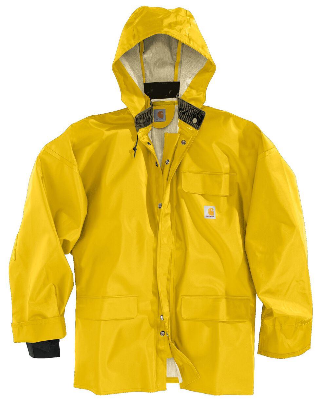 Carhartt Surrey Rain Coat, Yellow, hi-res