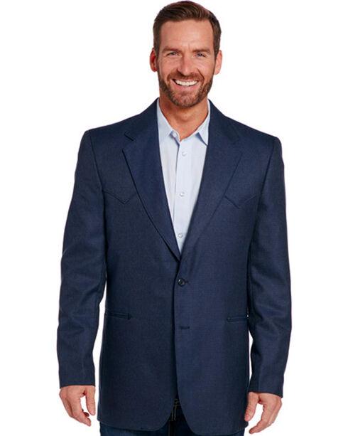 Circle S Men's Navy Carson City Sport Coat , Navy, hi-res