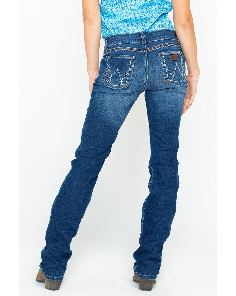 Wrangler Retro Women's Mae Mid-Rise Jeans, Blue, hi-res