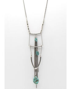 Cowgirl Confetti Women's Linked By Love Necklace, Silver, hi-res