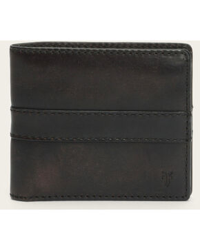 Frye Men's Oliver Billfold Wallet , Dark Brown, hi-res