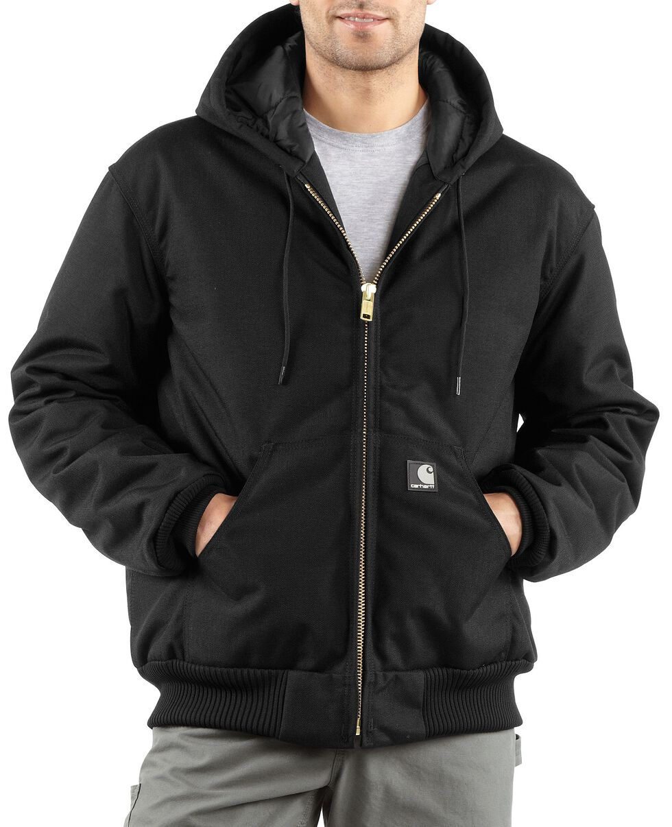 Carhartt Extremes® Quilt-Lined Active Jacket - Big & Tall, Black, hi-res