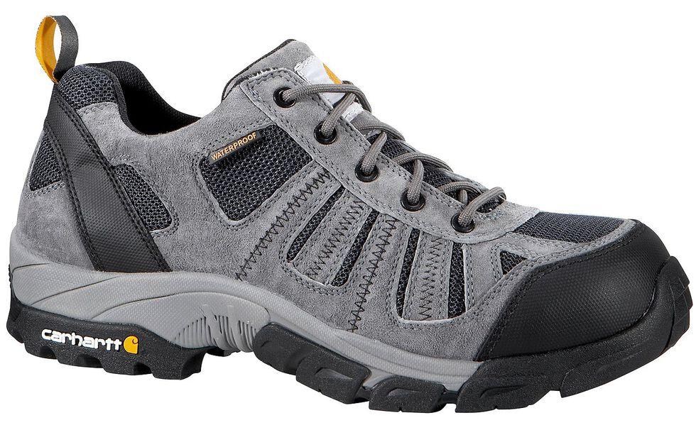 Carhartt Lightweight Waterproof Low Hiker Work Shoe, Grey, hi-res